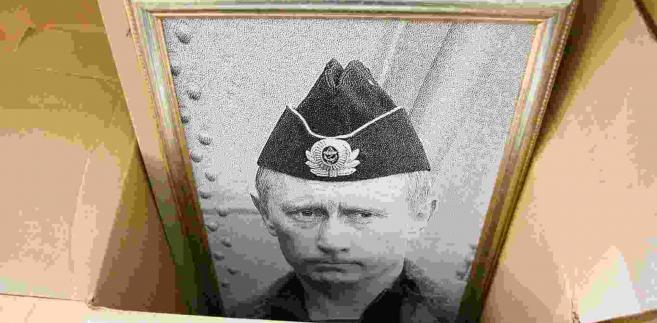 Portret Władimira Putina. Fot. hramovnick / Shutterstock.com