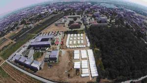 Obóz dla uchodźców w Traiskirchen w Austrii EPA/HELMUT FOHRINGER no restriction apply Dostawca: PAP/EPA.