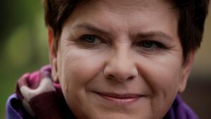 Beata Szydło, liderka Prawa i Sprawieliwości (PiS), 25.10.2015