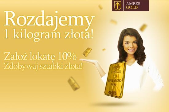 Amber Gold rozdaje 1 kilogram złota! - na takie reklamy nabrali się klienci spółki. Teraz szukają sposobów na odzyskanie pieniędzy