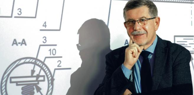 Dr inż. Eugeniusz Orszulik z Głównego Instytutu Górnictwa Tomasz Jodłowski