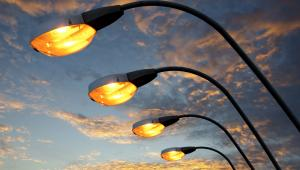 ulica, lampy