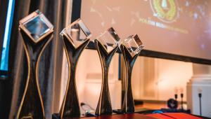 Statuetki Polish Business Awards 2016