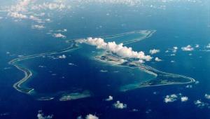 Zdjęcie satelitarne Diego Garcia