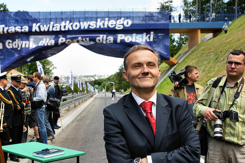 Prezydent Gdyni Wojciech Szczurek - materiały prasowe Biura Prezydenta Miasta Gdynia (fot. Tomasz Kamiński)