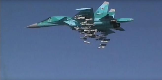Su-34 EPA RUSSIAN DEFENCE MINISTRY PRESS SERVICE