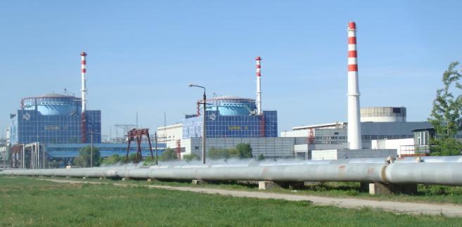 Chmielnicka Elektrownia Jądrowa. Źródło: By RLuts - Praca własna, CC BY 3.0, https://commons.wikimedia.org/w/index.php?curid=25996874