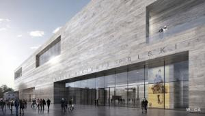 Muzeum Historii Polski - wizualizacja 1