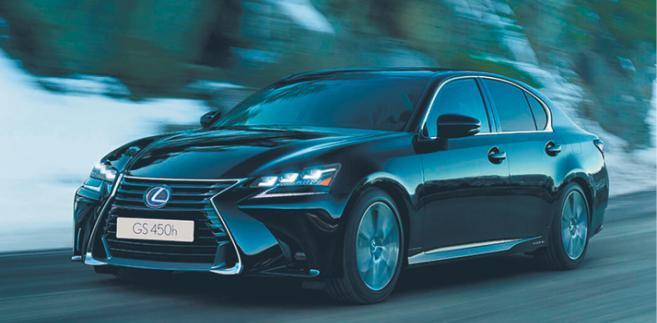 Lexus GS 450h fot. mat. prasowe