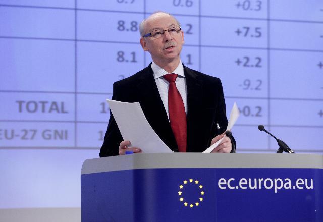 Janusz Lewandowski, komisarz ds. budżetu UE. Fot. materiały prasowe Komisji Europejskiej