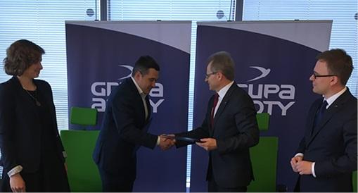 Podpisanie umowy między Grupą Azoty i firmą ScienceBioTech