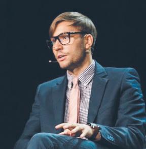 Ott Vatter, wiceszef e-Residency, rządowego programu umożliwiającego uzyskanie estońskiej rezydentury z każdego zakątka na świecie fot. Materiały prasowe