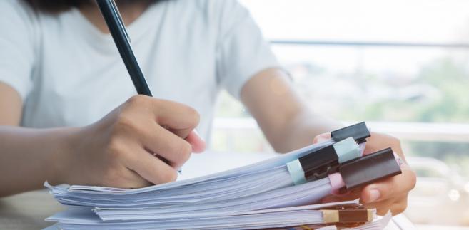 dokument, podpis, biuro, praca