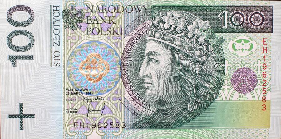 Co raz mniej euro dostaniemy za 100 złotych