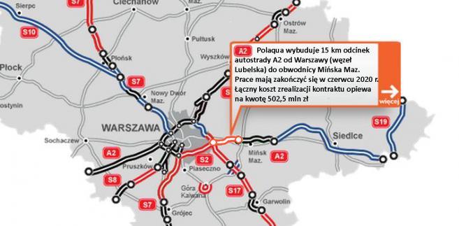 Autostrada A2 Idzie Dalej Na Wschod Od Warszawy Dzis Ruszyly