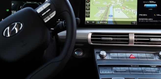 Hyundai - deska rozdzielcza