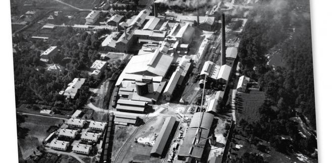 Cementownia Szczakowa w Pieczyskach, początek lat 20. fot. NAC