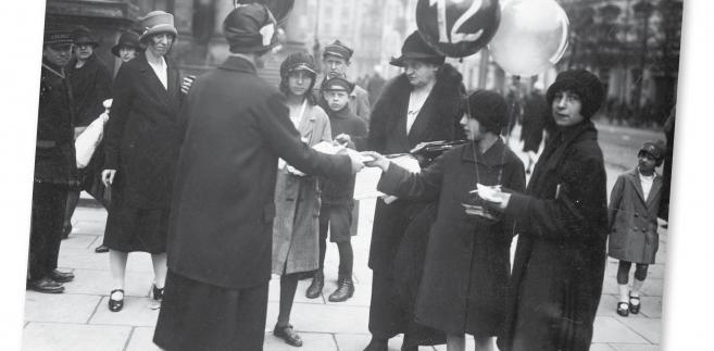 Kampania wyborcza w Warszawie, 1927 r. fot. NAC