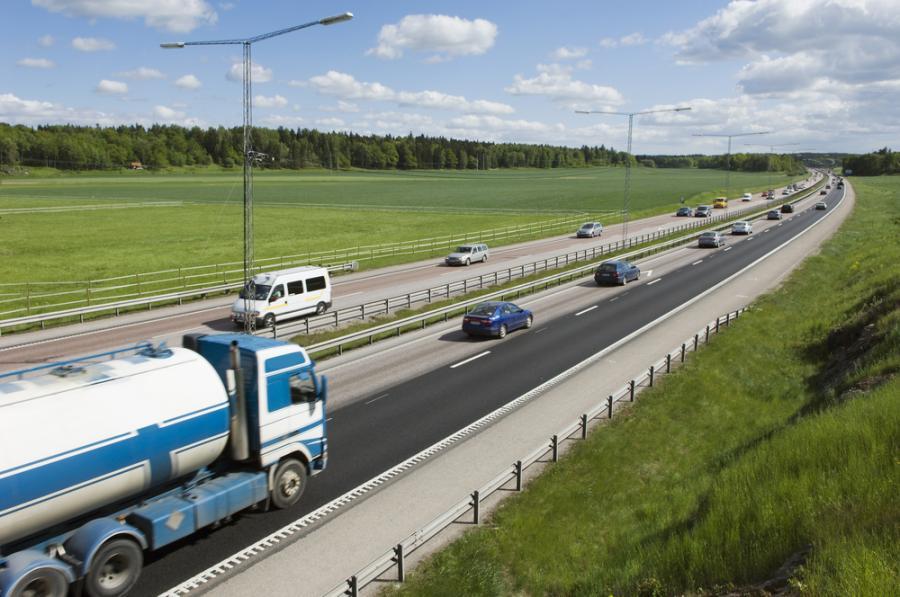 ciężarówka, tir, autostrada