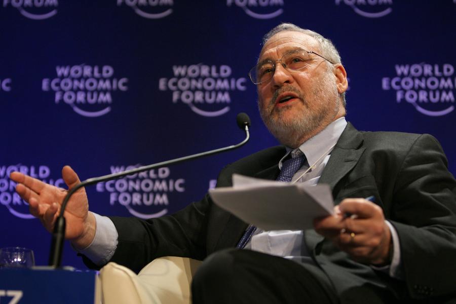 Joseph Stiglitz, laureat Nagrody Nobla z ekonomii, fot. Bloomberg