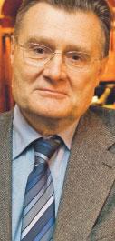 Andrzej Blikle, profesor, właściciel firmy A. Blikle