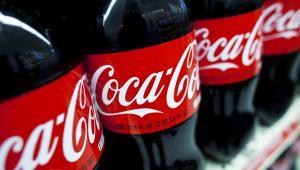 Butelki Coca-Coli. Fot. Ramin Talaie/Bloomberg