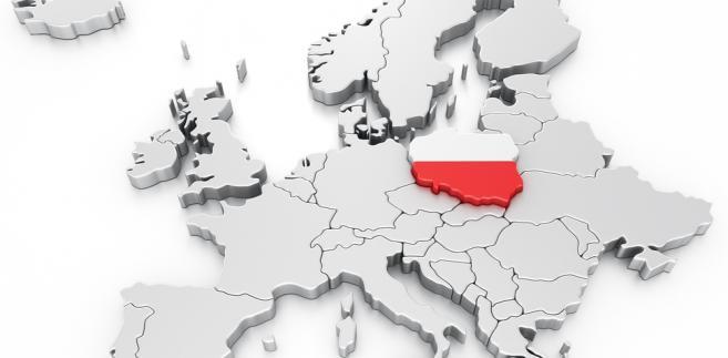 Mapa Polski Fot. Shutterstock