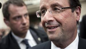 Francois Hollande, Paryż.