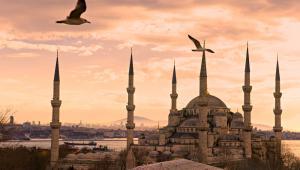 Błękitny Meczet w Istambule, Turcja; autor: Luciano Mortula